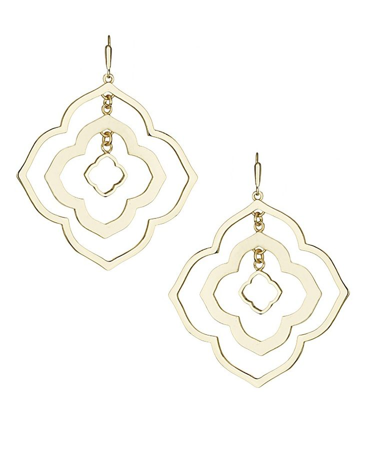 Darenda Earrings in Gold