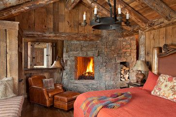 Spanish Peaks Cabin - rustic - bedroom - other metro - Lohss Construction