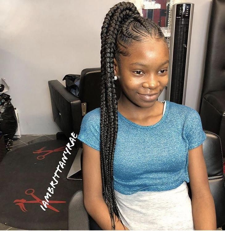 Hairstylesinafrica Girls Hairstyles Braids Feed In Braids