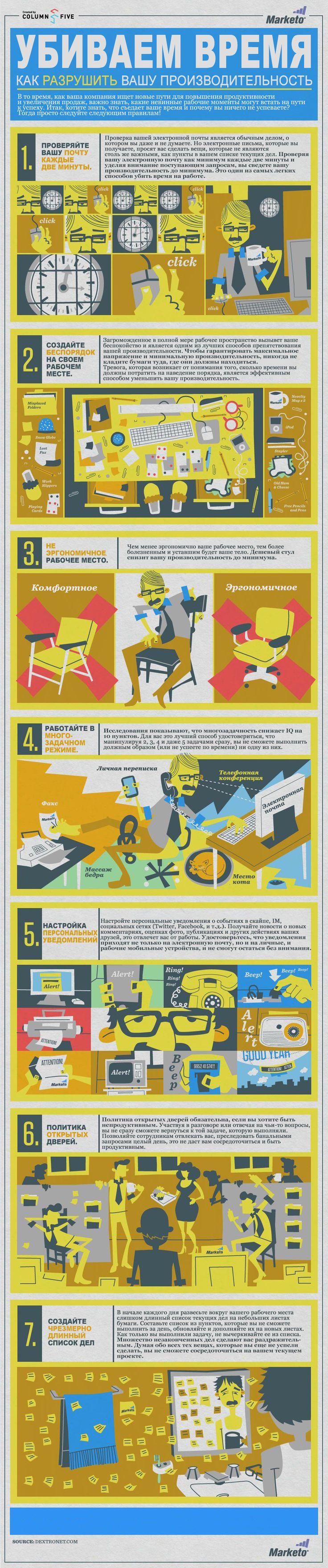 как снизить свою производительность