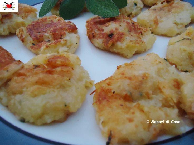 Rosti di patate al parmigiano