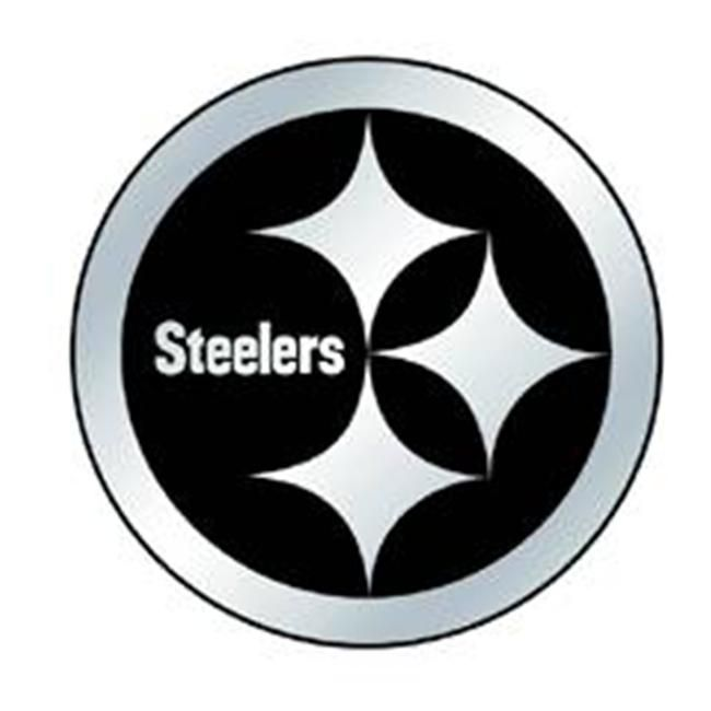 Pittsburgh Steelers Auto Emblem Silver In 2021 Pittsburgh Steelers Logo Pittsburgh Steelers Football Pittsburgh Steelers