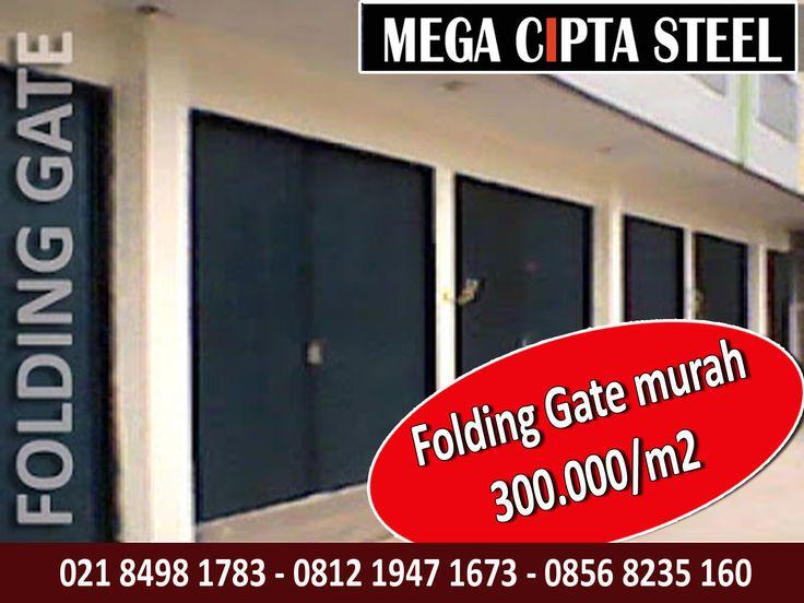 HARGA FOLDING GATE MURAH PONDOK RANGON CILANGKAP