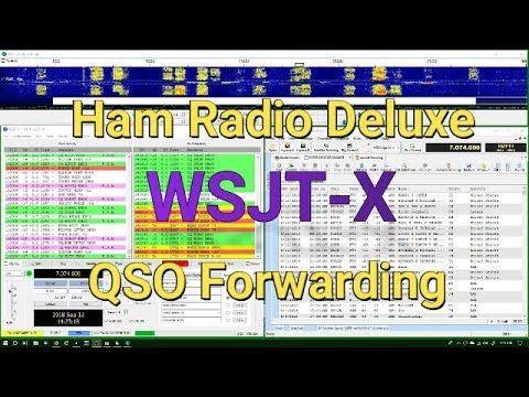 HRD Logbook and WSJT X QSO Forwarding | Radios | Ham, Ham radio