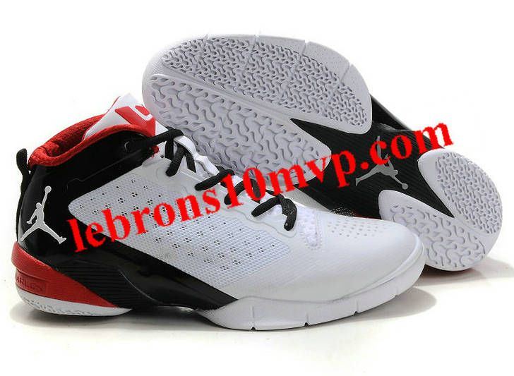Wade 2 VividAir Jordan Mid Men White Black Red shoes