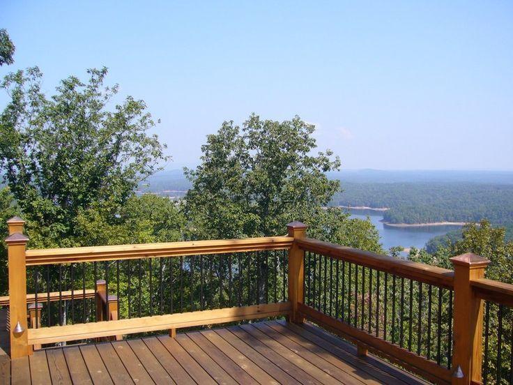 cabin deck railing ideas | Deck railing idea | Cabin:deck