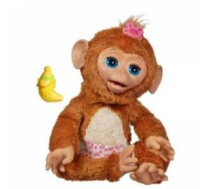 Furreal Friends Cuddles My Giggly Monkey Pet (4+, Hasbro, $80) Canadian Toy Testing Council (CTTC) - Best Bet The Noise on Toys – Gold Choic...