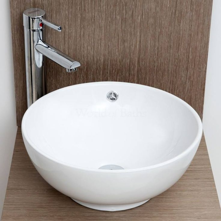 Stylish And Modern Around Small Hand Wash Cloakroom Basin/Sink. Http://