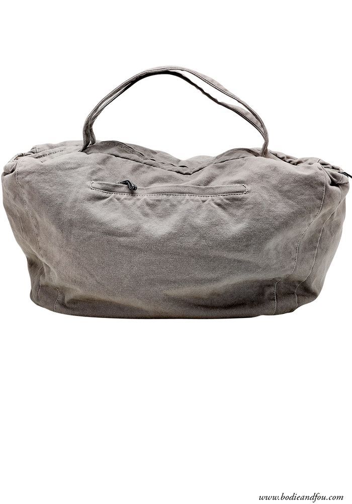 Must-have canvas travel bag - grey — Bodie and Fou - Award-winning inspiring concept store