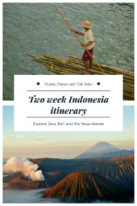 Want to explore Indonesia on a short holiday? Check out this two week Indonesia itinerary to find out how much you can see in a short time...