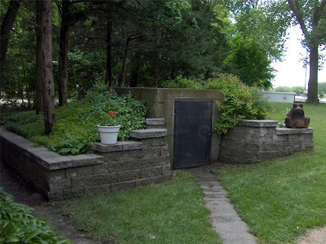 25 best ideas about storm shelters on pinterest tornado for Hidden storm shelter