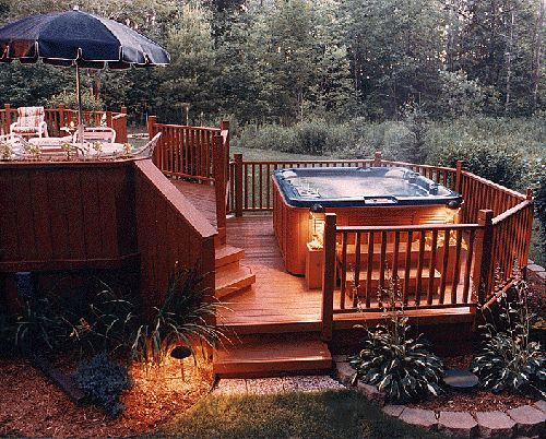 Would love to add the step down with the lower level patio and hot tub so I can walk out onto it from my bedroom!