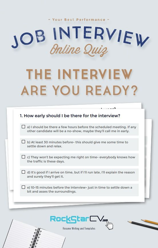 how early should i be to an interview