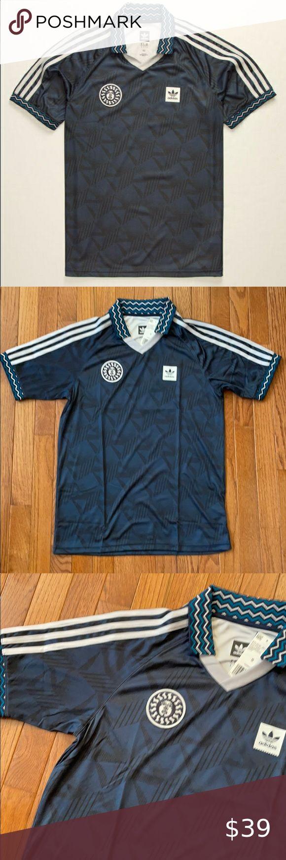 ADIDAS Bootleague Mens Jersey - Small | Blue adidas, Adidas, Fashion