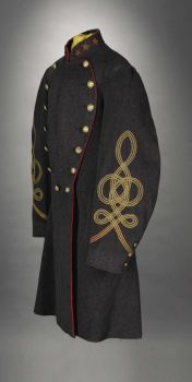 Military & Patriotic:Civil War, A Very Rare Confederate Colonel's Frock Coat - Colonel JohnThompson Brown, 1st Virginia Artillery, killed at the Battle ofth...