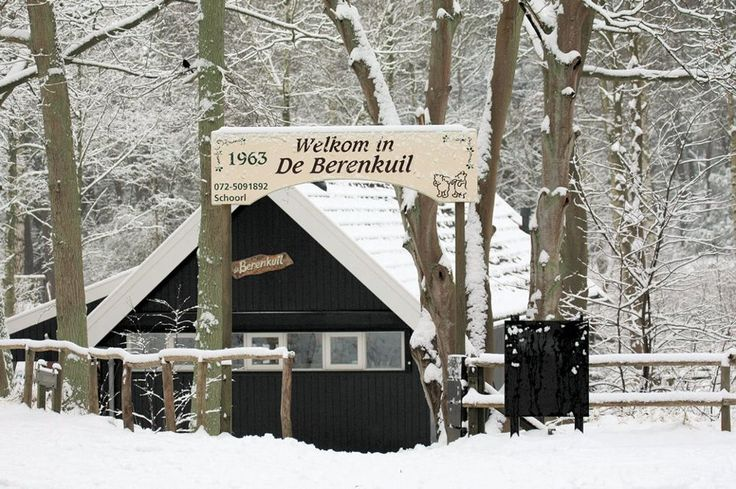Berenkuil Schoorl sneeuw foto Ron de Vries