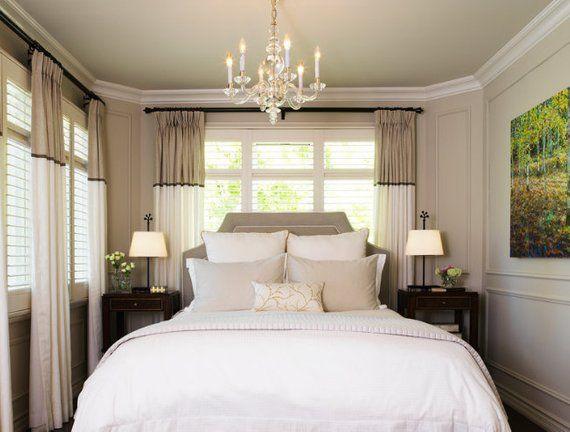 Color Block Ds, Small Bedroom Chandelier Ideas
