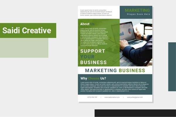 Marketing Business Flyer Template Free Download On Word File In 2021 Business Flyer Templates Business Flyer Marketing Flyer