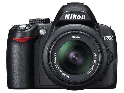 My Nikon D3000 Review