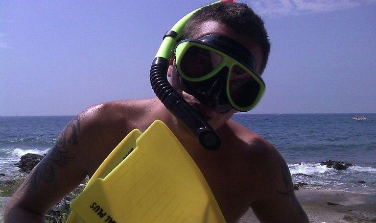 Nurkowanie w masce i płetwach w Adriatyku