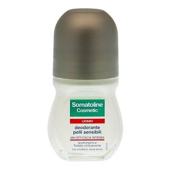 Deodorante formulato per le specifiche esigenze dell'uomo