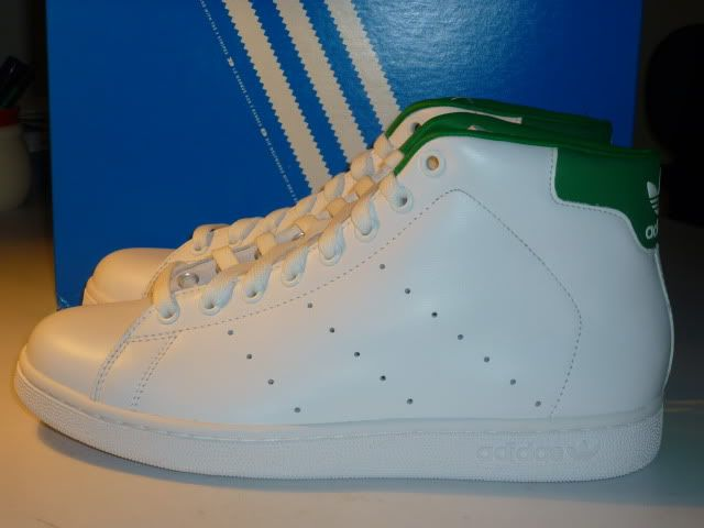 Stan Smith Adidas High Cut