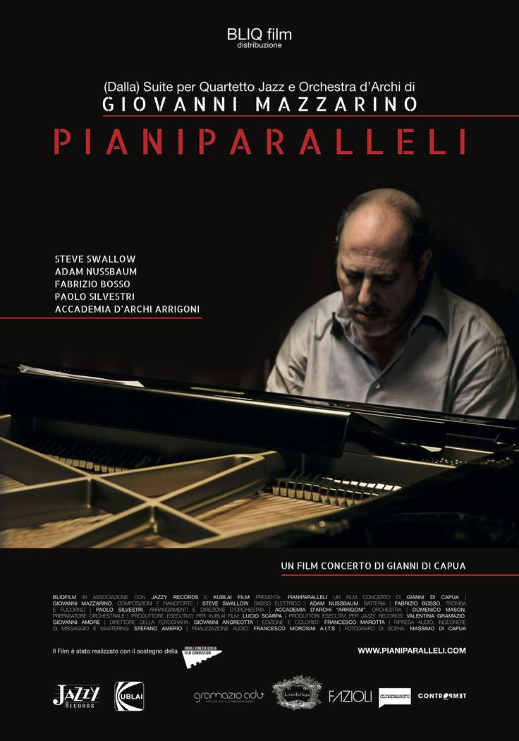 Gianni Di Capua omaggia i 50 anni di età e i 30 di carriera di uno dei più importanti jazzisti di oggi. Dal 7 aprile al cinema.