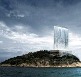 Gigantic Energy-Generating Waterfall Skyscraper Could Power the 2016 Rio Olympics. Read more: Gigantic Energy-Generating Waterfall Skyscraper Could Power the 2016 Rio Olympics | Inhabitat - Sustainable Design Innovation, Eco Architecture, Green Building