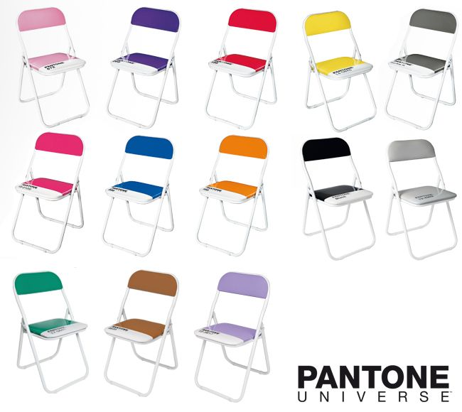 Pantone Chairs By Selab, From Seletti.
