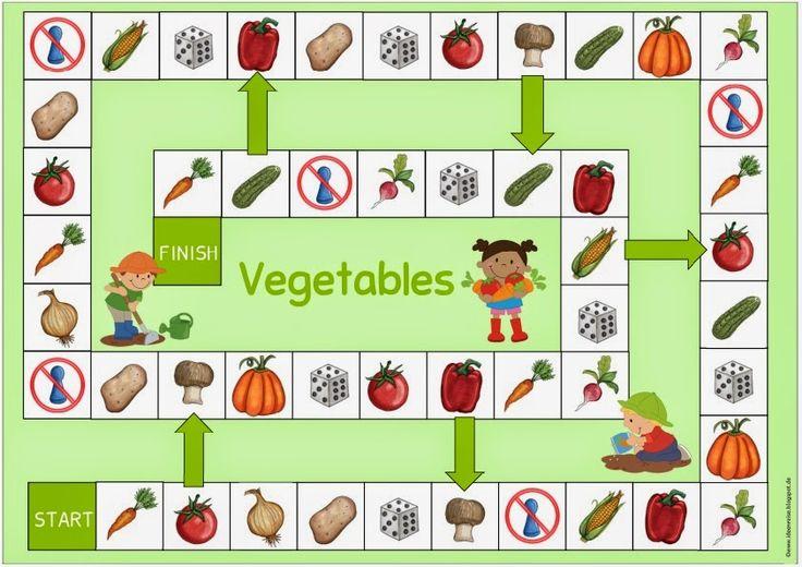"""Spielfeld """"vegetables"""""""