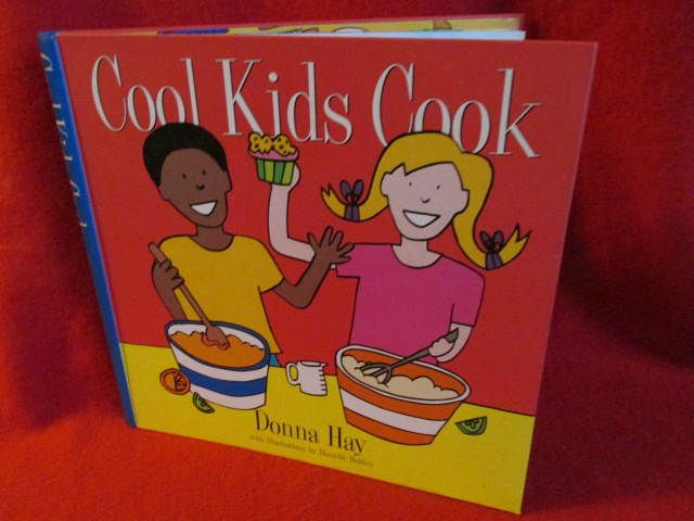 """Kid's Cook Book """"Cool Kids Cook"""" by Donna Hay by TheBookE on Etsy"""