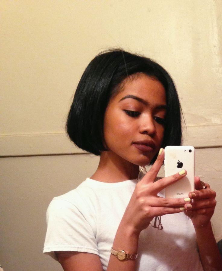 Fantastic Best 25 Natural Hair Bob Ideas On Pinterest Black Hair Cuts Hairstyles For Men Maxibearus