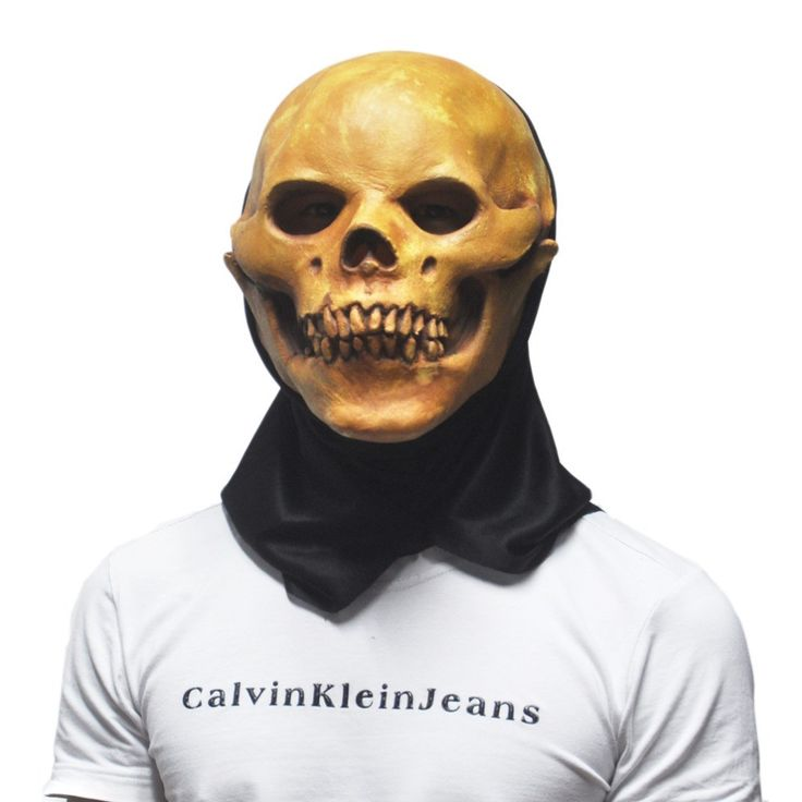 Halloween Masquerade Adult Masks Scary Creepy Skull Latex Party Prop Novelty Silicone Rubber Theater Mask