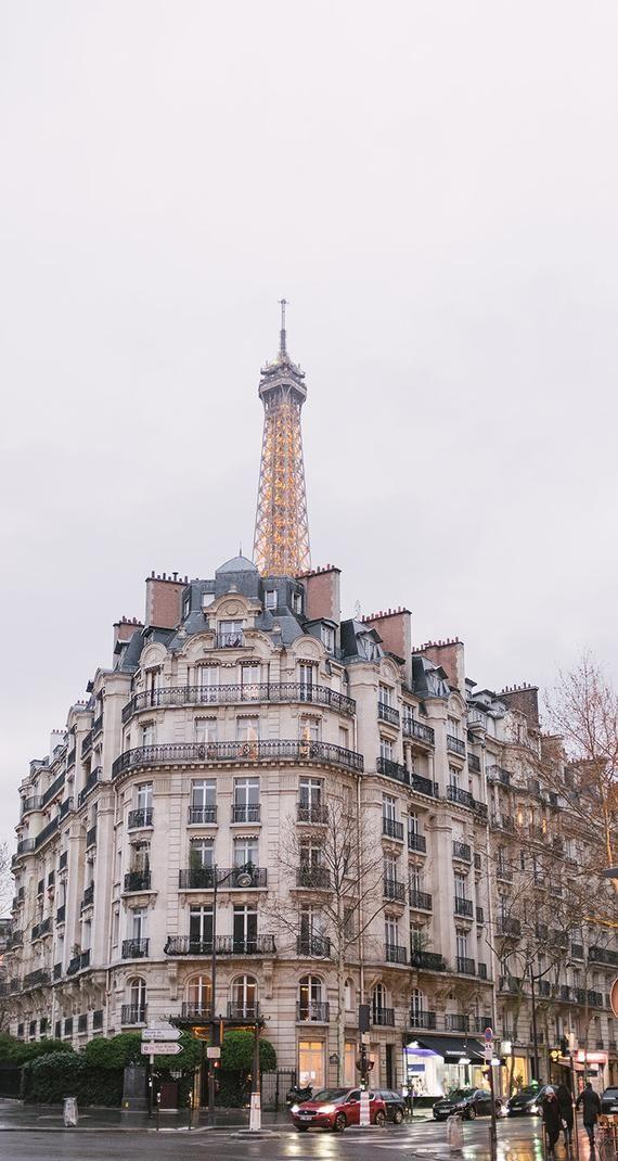 Paris Photography, Rainy Evening in Paris, April in Paris, Paris Home Decor, Travel Photography, Eiffel Tower View Paris, Architecture