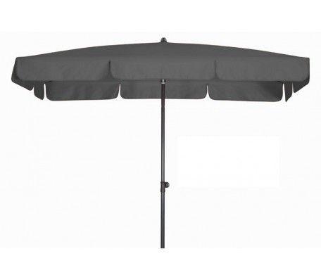 Balkon parasol 185x120 waterdicht Antraciet