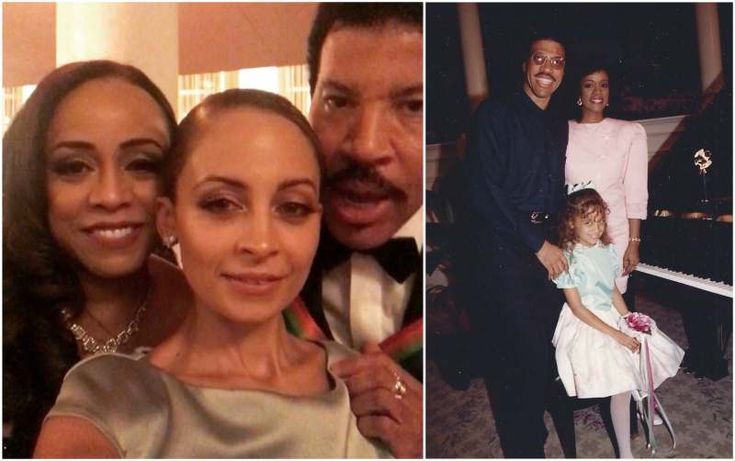 Lionel Richie's now ex-wife Brenda Harvey-Richie and adopted daughter Nicole