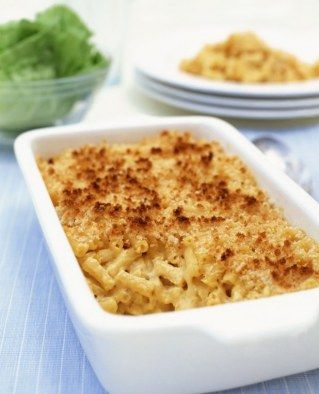 Voir la recette de gratin de macaroni au fromage