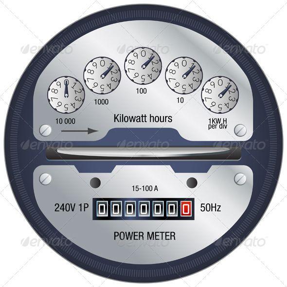 Power Meter Icon : Power meter illustration fonts logos icons pinterest