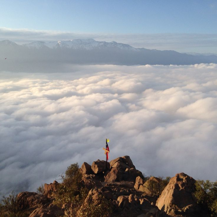 Viva #chile #hiking #manquehue #outdoors