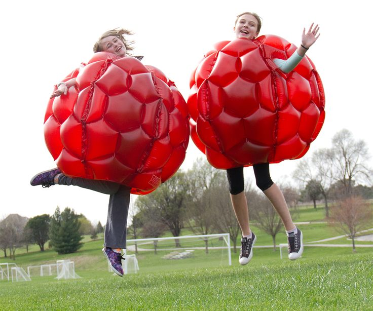 Belly Bump Ball - Deluxe - Set of 2 and over 7,500 other quality toys at Fat Brain Toys. Sized perfectly for older kids and adults, you don't have to be a little one to experience the excitement, laughter, and sheer silliness of the Belly Bump Ball. Just inflate it, put it on, and start bouncing, bumping, and giggling with endless excitement!