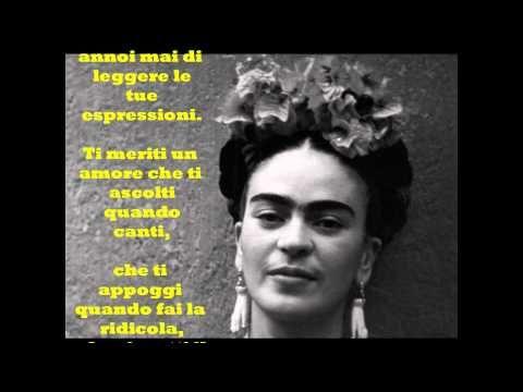 """Frida Khalo: """"TI MERITI UN AMORE"""" - Le videopoesie di Gianni Caputo"""