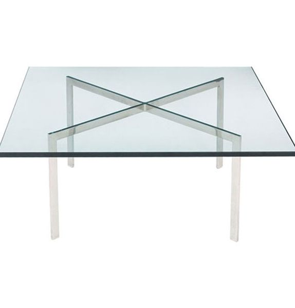 Replica Mies Van der Rohe Barcelona Coffee Table by Mies Van Der Rohe - Matt Blatt