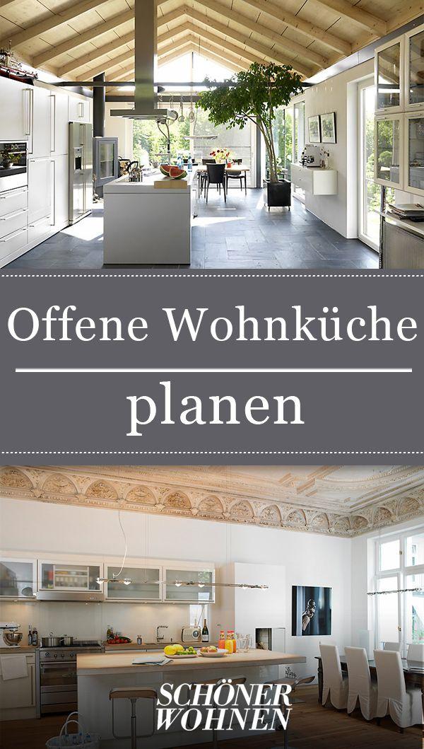 Offene Wohnkuche Planen Wohnkuche Offene Wohnkuche Und Offene Kuche Wohnzimmer