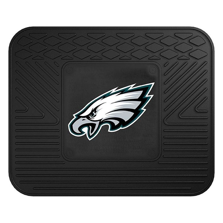 """Officially Licensed NFL Team Logo 14"""" x 17"""" Mat by Sports Licensing Solutions - Cowboys - Eagles"""