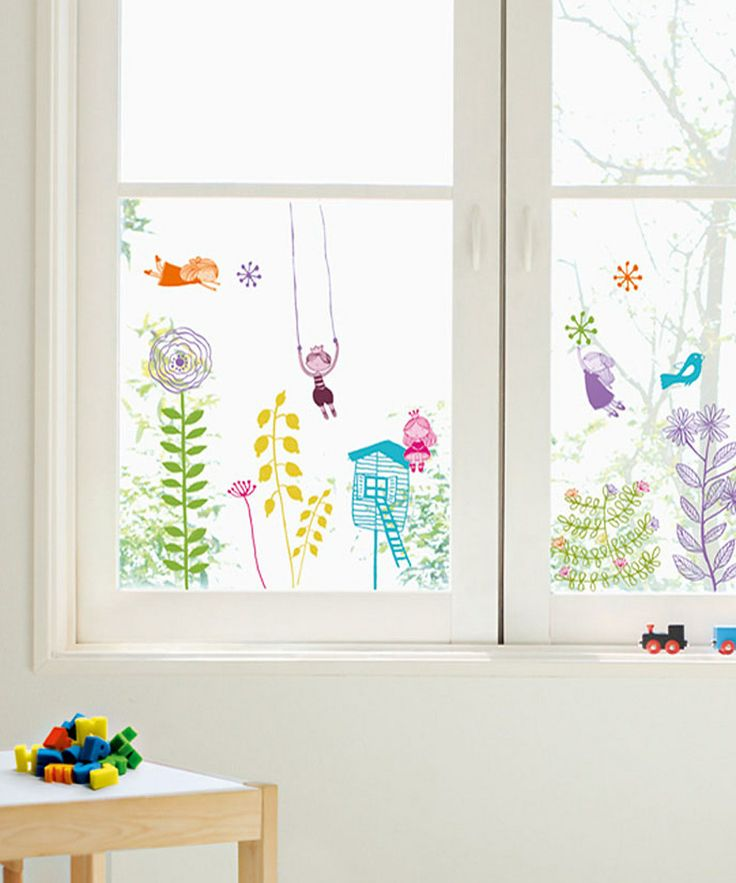 Take a look at this Poucette Window Cling Set on zulily today!
