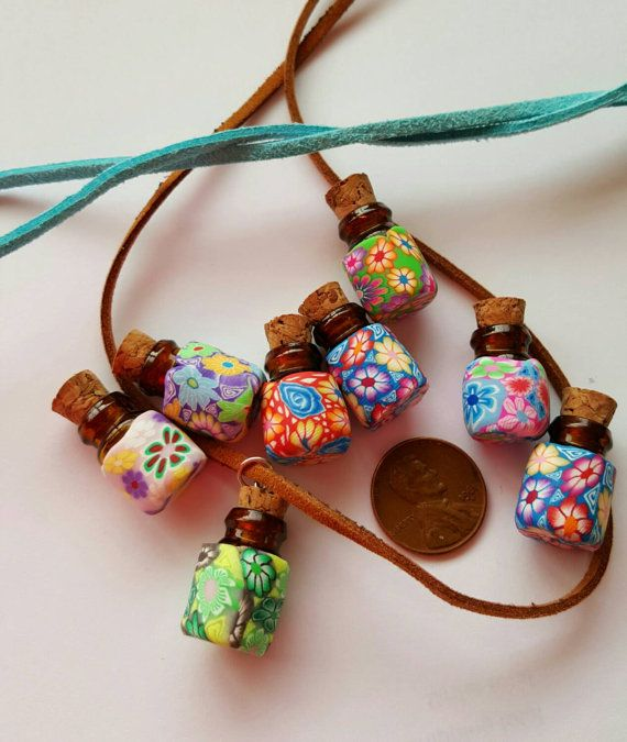 Hey, I found this really awesome Etsy listing at https://www.etsy.com/listing/260925307/fimo-clay-hippie-chick-mini-boho-bottle