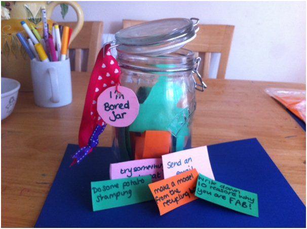 50 Thrifty Ideas for the School Summer Holidays - boredom jar