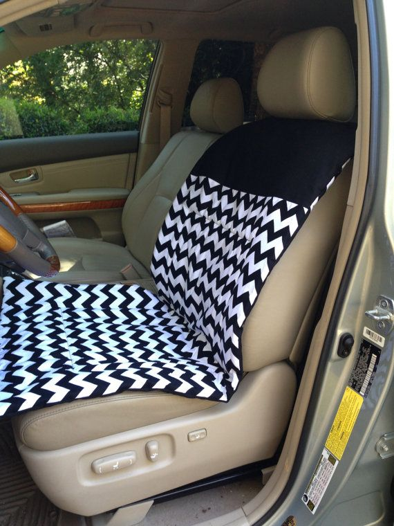 Designer Car Seat Cover for Runners Tennis Players by ComfyCar