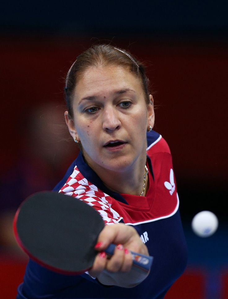Day 1:  Table Tennis - Women's Singles - Cornelia Molnar of Croatia