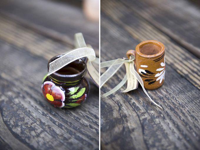 handmade tequila shot glass favors | Foto Nuova